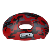 Battle Sports Oxygen Mouthguard - Adult - Red / Black