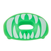 Battle Sports Oxygen Mouthguard - Adult - Light Green / White