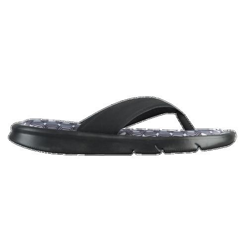 Nike Ultra Comfort Thong - Women's Casual - Black/White 82700004