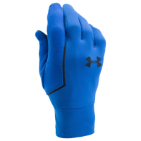 Under Armour ColdGear Storm Core Run Liner Gloves - Men's - Light Blue / Black