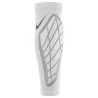 Nike Pro Hyperstrong Padded Forearm Shivers - Men's - White / Grey