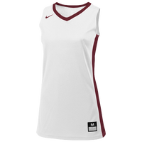 Nike Team Fastbreak Jersey - Women's - White / Maroon