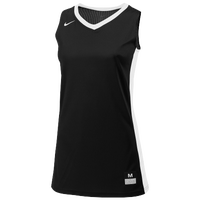 Nike Team Fastbreak Jersey - Girls' Grade School - Black / White