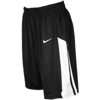 Nike Team Fastbreak Shorts - Girls' Grade School - Black / White
