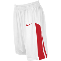 Nike Team Fastbreak Shorts - Girls' Grade School - White / Red