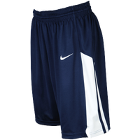 Nike Team Fastbreak Shorts - Girls' Grade School - Navy / White