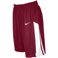 Nike Team Fastbreak Shorts - Girls' Grade School - Maroon / White