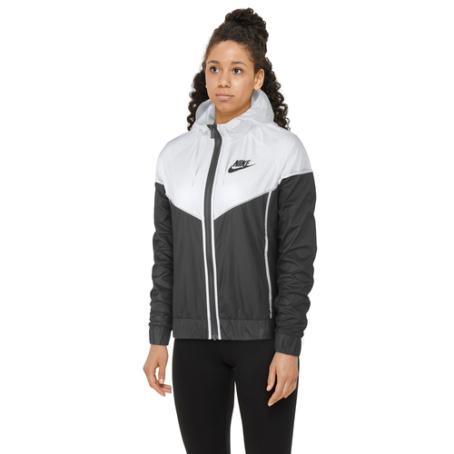 Nike Windrunner Jacket Women S Casual Clothing Charcoal White
