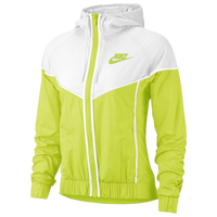 Nike Windrunner Jacket - Women's - Light Green / White