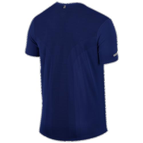 Nike Dri-FIT Contour Short Sleeve T-Shirt - Men's. $29.99. Selected Style: Deep  Royal Blue/Reflective Silver