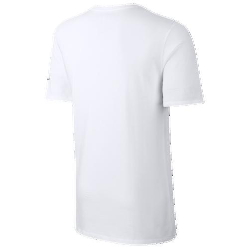 finest selection c07f4 0484d Mens Logo Shirt Nike T Clothing White Casual Huarache x1TTqz