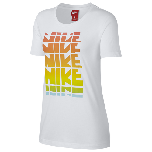 Nike Retro Graphic T-Shirt - Women's Casual - White 83955100