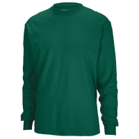 Gildan Team 50/50 Dry-Blend Long Sleeve T-Shirt - Men's - Dark Green / Dark Green
