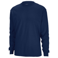 Gildan Team 50/50 Dry-Blend Long Sleeve T-Shirt - Men's - Navy / Navy
