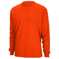 Gildan Team 50/50 Dry-Blend Long Sleeve T-Shirt - Men's - Orange / Orange