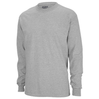 Gildan Team 50/50 Dry-Blend Long Sleeve T-Shirt - Men's - Grey / Grey