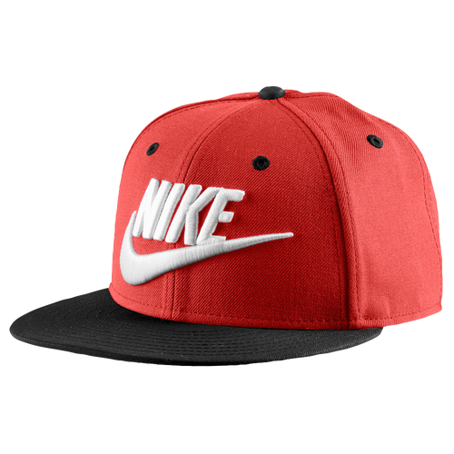 Nike Futura Snapback Cap - Men's - Casual - Accessories - University Red/Black/University  Red/White