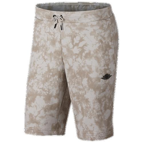 Jordan Fadeaway Shorts - Men's Basketball - Light Bone 84275072