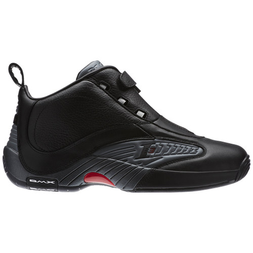 Reebok Answer IV Mens Allen Iverson Black Rivet Grey Excellent on ... e638be11b