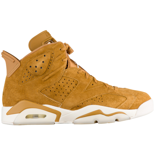 Jordan Retro 6 - Men's Basketball - Golden Harvest/Sail 84664705