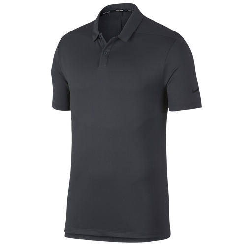 Nike Breathe Golf Polo Texture OLC - Men's Golf - Anthracite/Silver 8469060