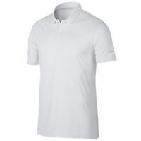 Nike Breathe Golf Polo Texture OLC - Men's - White / Silver