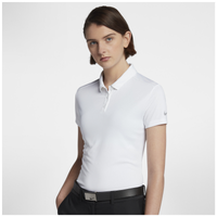 Nike Dri-Fit Victory Golf Polo - Women's - All White / White
