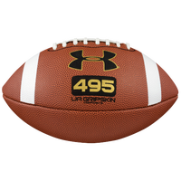 Under Armour Youth Size Composite Football - Boys' Grade School - Brown / White