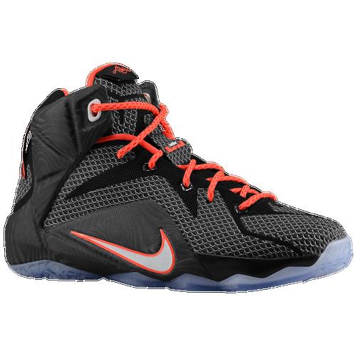 outlet store 1445c fab8e ... spain nike lebron 12 boys grade school basketball shoes lebron james  black bright crimson white 78dcb