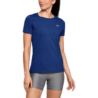 Under Armour HeatGear Armour S/S Crew - Women's - Blue / Blue