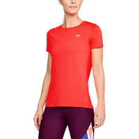 Under Armour HeatGear Armour S/S Crew - Women's - Pink / Pink