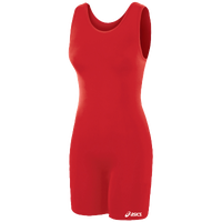 ASICS® Solid Modified Singlet - Women's - Red / Red