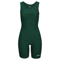ASICS® Solid Modified Singlet - Women's - Dark Green / Dark Green