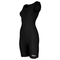 ASICS® Solid Modified Singlet - Women's - All Black / Black