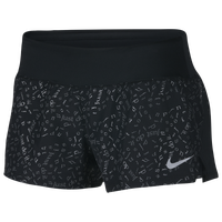 Nike Dry Crew Shorts 2 - Women's - Black / Grey
