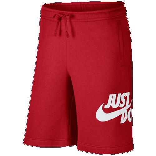 Nike JDI Shorts - Men's Casual - University Red/White 86501657