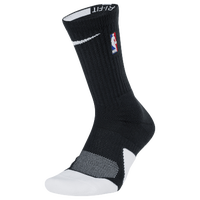 Nike NBA Elite 1.5 Crew - NBA League Gear - Black / White