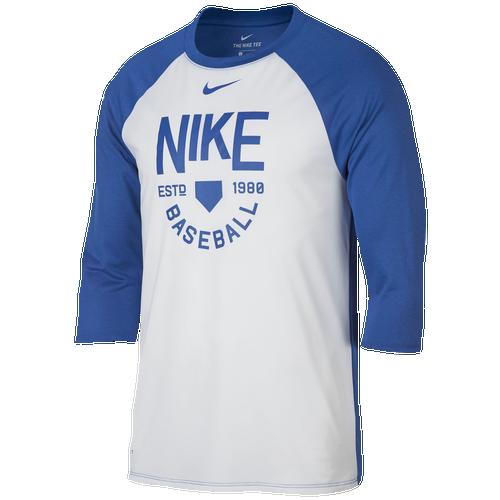 Nike Baseball Raglan 3 4 Sleeve T Shirt Men 39 S Baseball