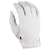 Under Armour Spotlight Lux Football Gloves - Men's - All White / White
