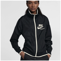 Nike Archive Jacket - Women's - Black / Off-White