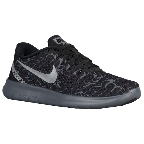 Nike Free RN Women's Running Shoes Black/Reflective Silver