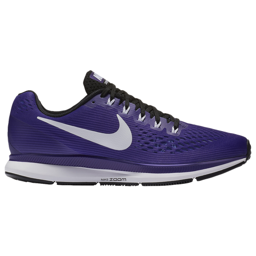 Nike Air Zoom Pegasus 34 - Men's - Running - Shoes - Court  Purple/White/Black
