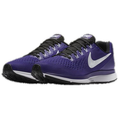 Nike Air Zoom Pegasus 34 - Men's Running Shoes - Court Purple/White/Black 87009501