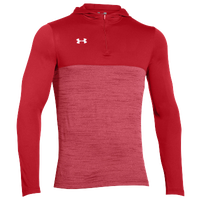 Under Armour Team Tech 1/4 Zip Hoodie - Men's - Red / Red