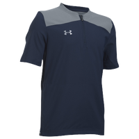 Under Armour Triumph Cage Jacket - Boys' Grade School - Navy / Grey