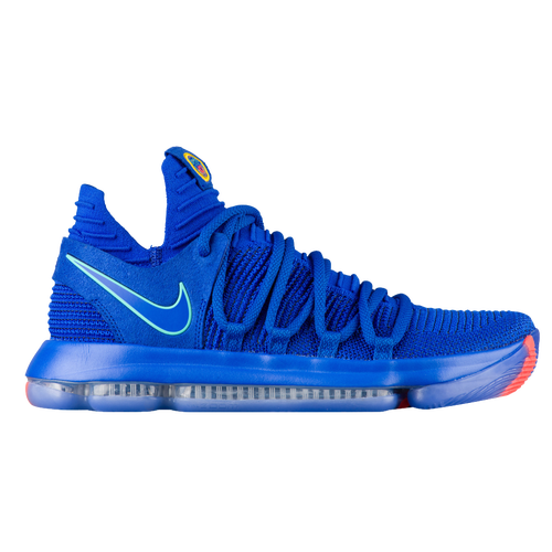 Nike KD X - Men's - Basketball - Shoes - Kevin Durant - Racer Blue/Black/Total  Crimson