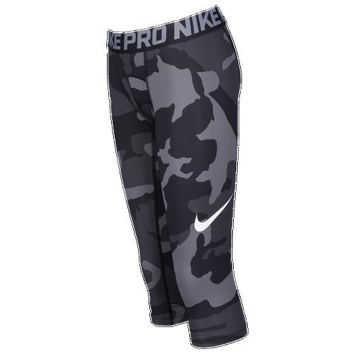 4cbc36fb2e99c ... Size L; Nike Hypercool 34 Compression Tights - Boys Grade School -  Football - Clothing - WhiteBlackCamo ...