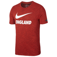 Nike Swoosh T-Shirt - Men's - England - Red / White