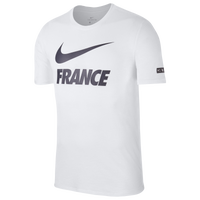 Nike Swoosh T-Shirt - Men's - France - White / Navy