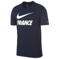 Nike Swoosh T-Shirt - Men's - France - Navy / White
